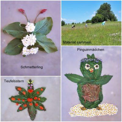 Kunstwerke aus Naturmaterialien